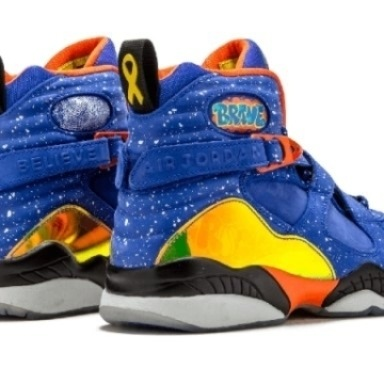 Mens Shoes Nike Air Jordan 8 Retro DB Doernbecher