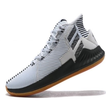 Adidas D Rose 9 Boost White Black