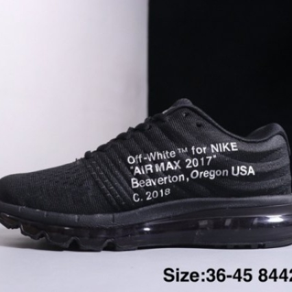 Nike Air Max 2019 Off White Black White Mens Women