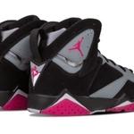 Womens Shoes Nike Air Jordan 7 Retro Sport Fuchsia
