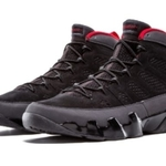 Mens Shoes Nike Air Jordan 9 Retro Charcoal