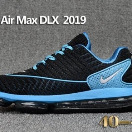 Mens Nike Air Max DLX 2019 Running Shoes Black Blu