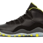 Mens Shoes Nike Air Jordan 10 Retro Black Venom Gr