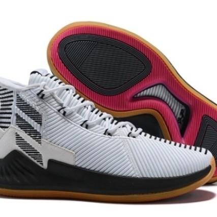 Adidas D Rose 9 Boost White Black