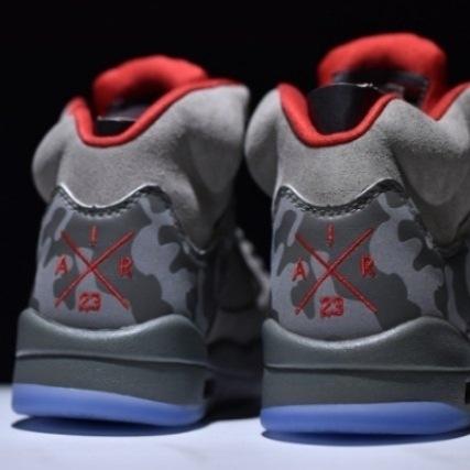 Mens Shoes Nike Air Jordan 5 Retro CAMO TROPHY ROO