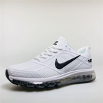 Mens Nike Air Max 2019 Kpu Sneakers White BlackNI