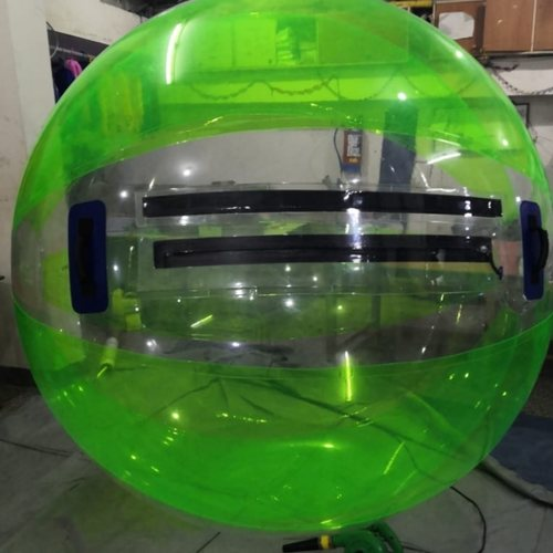 6.5 feet Transparent water aqua zorbing TPO ball