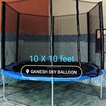 Ganesh Fitness Trampoline 10 x 10 feet