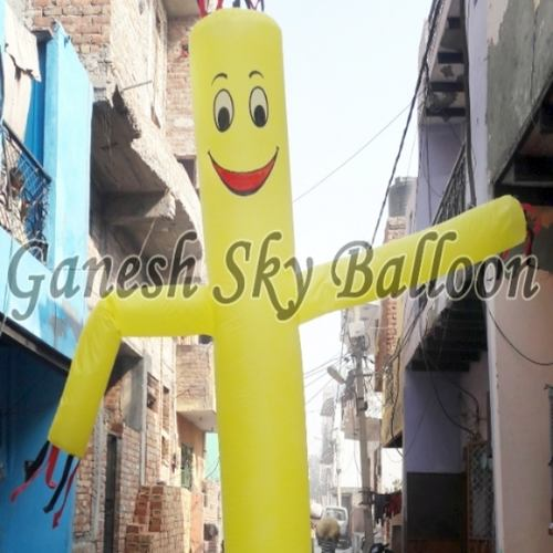 12 Yellow Air Inflatable Sky Dancer