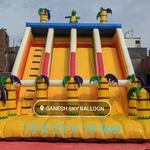 Inflatable Jumbo Slide Bouncy Jumping Jhula