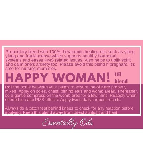 Happy Woman - Hormonal Support Oil Blend 10ml