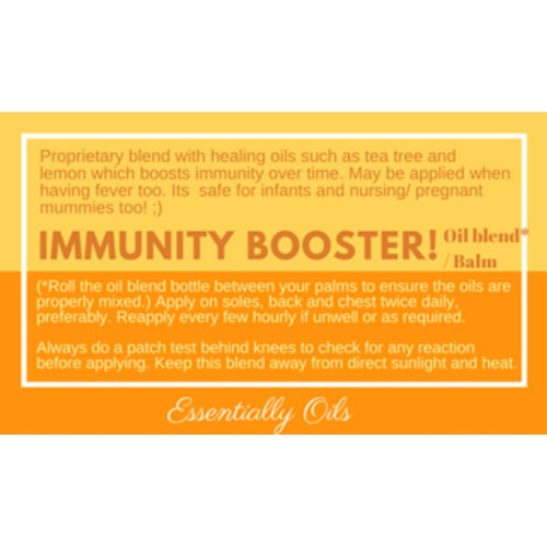 Immunity Booster - Immunity Oil Blend 10ml