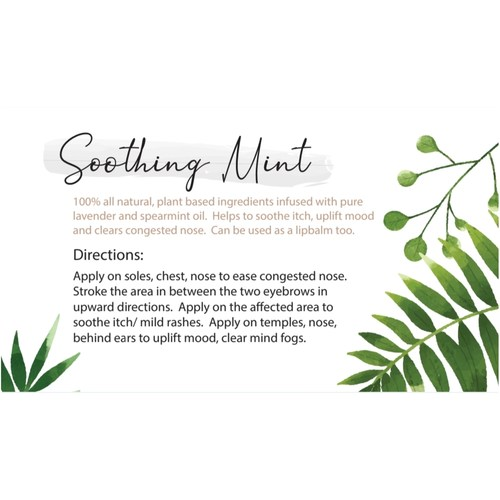 Soothing Mint - Refreshing Moisturing Lotion 120g