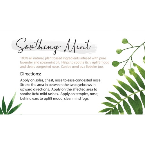 Soothing Mint - Refreshing Moisturising Lotion 60g