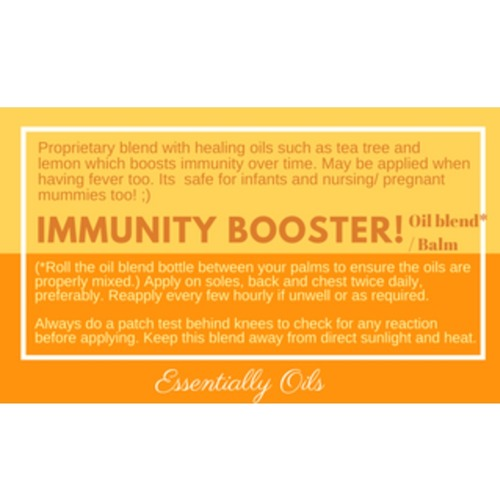 Immunity Booster - Immunity Diffusing Blend 15ml