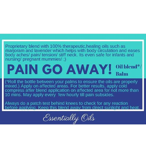 Pain Pain Go Away - Pain & Aches Oil Blend 10ml