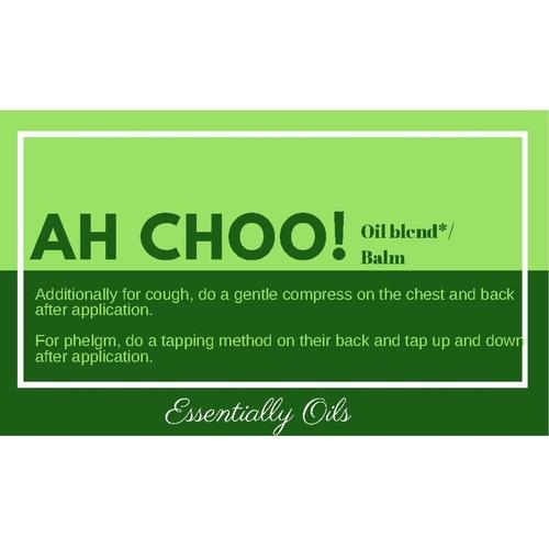 Ah Choo - Respiratory Aid balm 30g