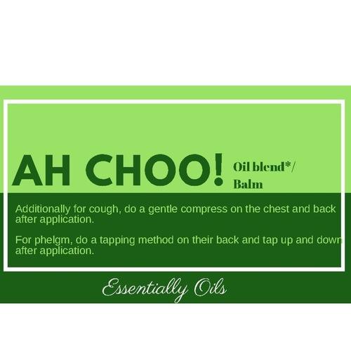Ah Choo! - Respiratory Aid Rub 60g