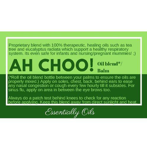 Ah Choo! - Respiratory Aid balm 30g