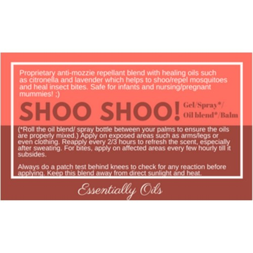 Shoo Shoo - Bugz Off Diffusing Blend 15ml