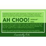 Ah Choo - Respiratory Oil Blend 30ml