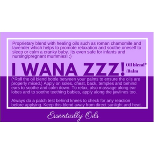 I wana Zzzz - Soothing Oil Blend 10ml