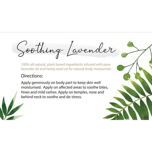 Soothing Lavender - Moisturising Lotion 120g