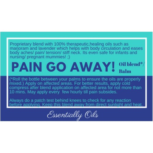 Pain Pain Go Away - Pain & Aches Oil Blend 30ml