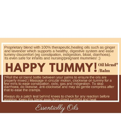 Happy Tummy - Digestive Support balm 30g