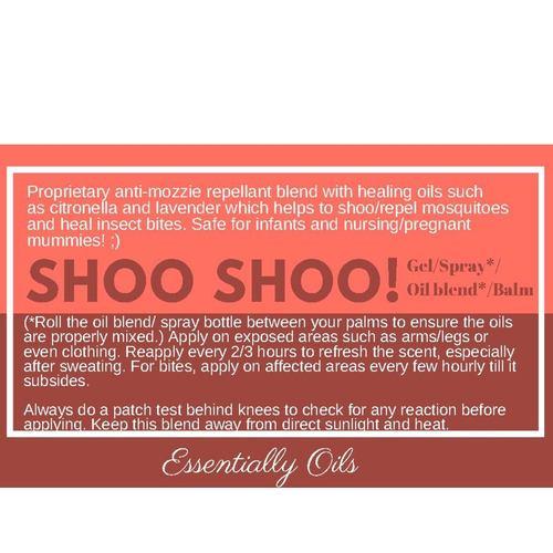 Shoo Shoo Bugz Off Repellent Spray 30ml