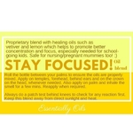 Stay Focus - Focus Oil Blend 10ml