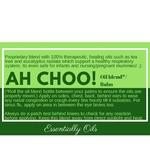 Ah Choo! - Respiratory Oil Blend 10ml