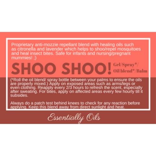Shoo Shoo - Bugz Off Repellent 60ml Spray