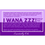I wana Zzzz - Soothing Oil Blend 15ml