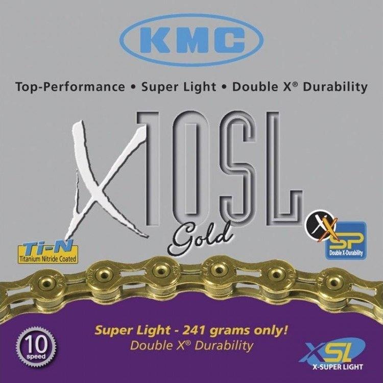KMC x10SL SuperLight Chains