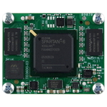 GigaBee XC6SLX45-2 with 2 x 128 MByte, industrial temp. range