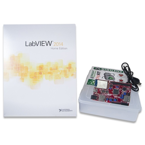 LabVIEW Physical Computing Kit with chipKIT WF32