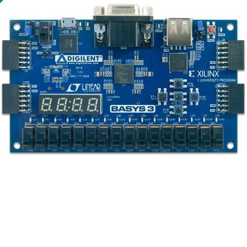 Basys 3 Artix-7 FPGA Trainer Board