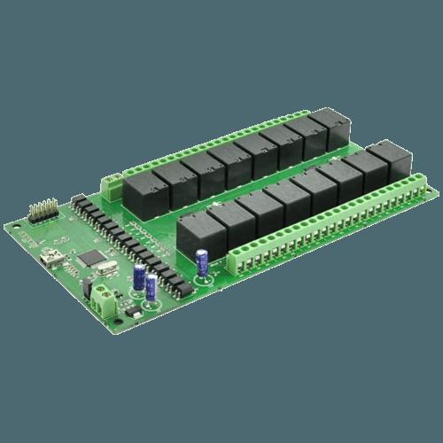 16 Channel USB Relay Module