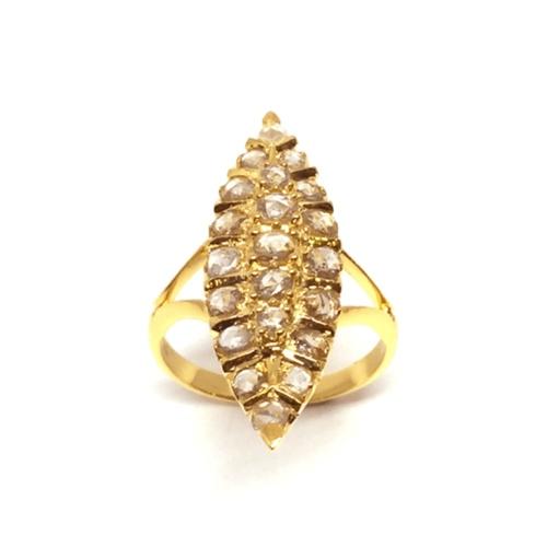 RC/R 10     ROSECUT DIAMOND RING