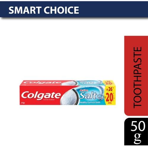 Colgate Toothpaste - Active Salt, Salt & Minerals, 50 gm