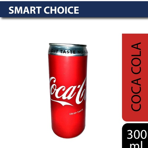 Coca Cola Soft Drink - Diet Coke, 300 ml Can