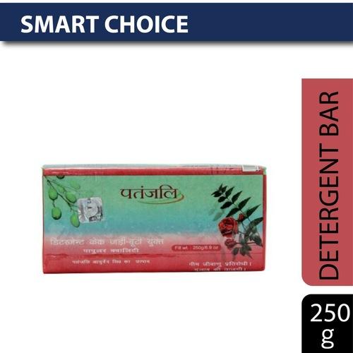 Patanjali Detergent Bar - Popular Quality Rose Fragrance, 250 gm