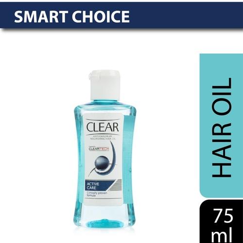 Clear Anti Dandruff Active Care Nourishing Hair Oil 75 ml
