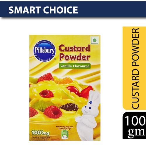Pillsbury Custard Powder, Golden Vanilla, 100g