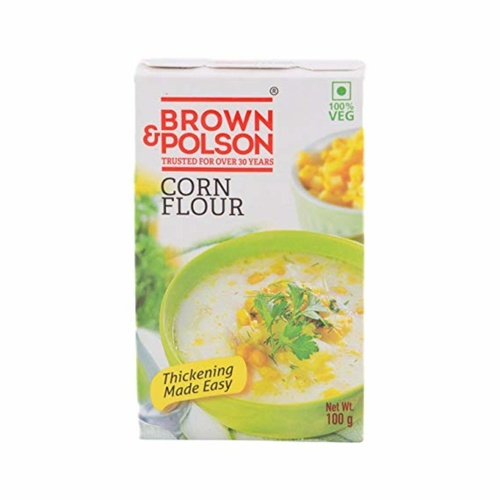 BROWN & POLSON CORN FLOUR 100GM