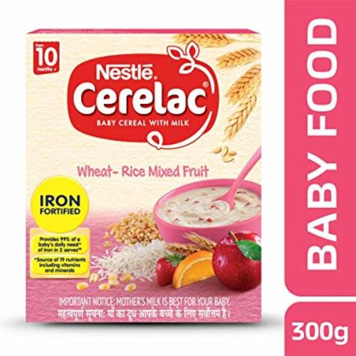 CERELAC WHEAT RICE 10+ 300GM