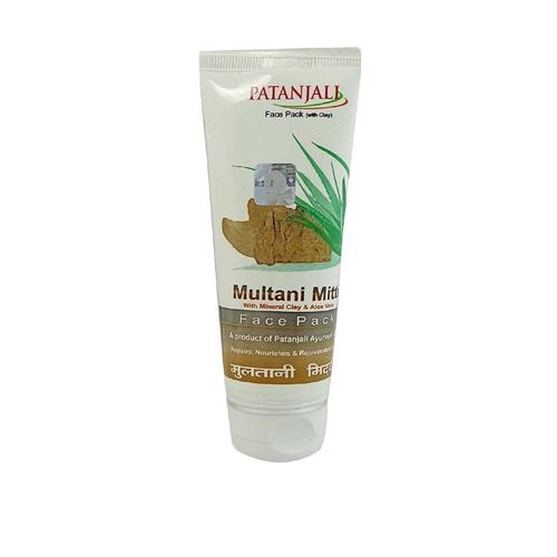 Patanjali Aloevera Multani Mitti Face Pack, 60 ml