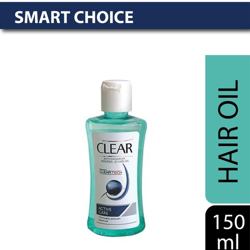 Clear Active Care Anti-Dandruff Hair Oil 150 Ml