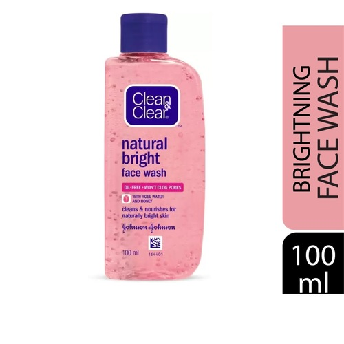 Clean & Clear Natural Bright Face Wash  (100 ml)